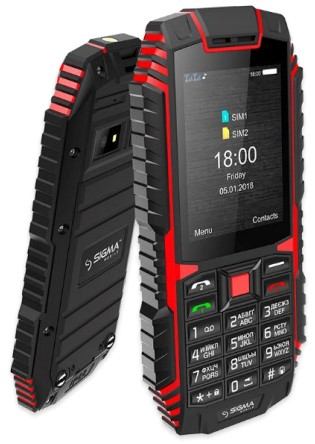 фото товара Sigma Х-treme DT68 Black-Red