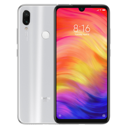 фото товара Xiaomi Redmi Note 7 4/128Gb Moonlight White