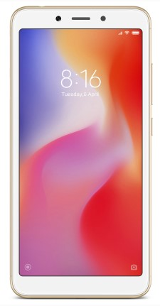 фото товара Xiaomi Redmi 6A 2/16Gb Gold