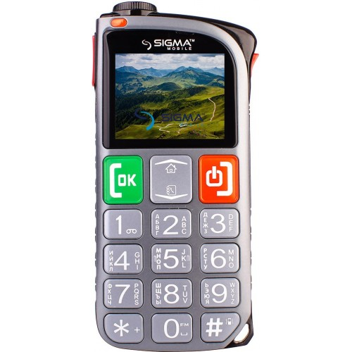 фото товара Sigma Comfort 50 Light Dual Sim Gray