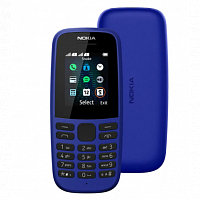 фото товара Nokia 105 DS 2019 Blue