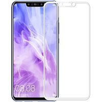 фото товара Защитное стекло Florence (full glue) Huawei P Smart Plus Full Cover White (тех.пак)