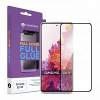 фото товара Защитное стекло MakeFuture Samsung S20 FE (G780F) Full Cover (full glue) Black
