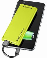 фото товара УМБ Cellularline FreePower Slim 3000 green (FREEPSLIM3000G)