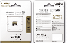 фото товара Verico MicroSDHC 8GB UHS-I (Class 10) (card only)