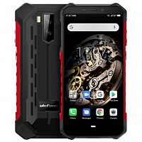 фото товара Ulefone Armor X5 (IP69K, 3/32Gb, NFC, 4G) Black-Red