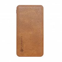 фото товара УМБ FLORENCE LEATHER Li-Pol 10000mAh Brown (FL-3024-N)