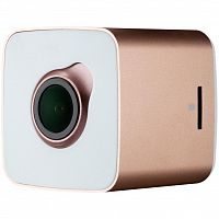 фото товара Видеорегистратор Prestigio RoadRunner CUBE 530RS rose gold/white, FHD, 2MP, 30fps, 140В°