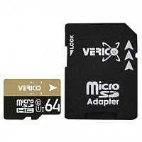 фото товара Verico MicroSDXC 64GB Class 10 (UHS-1) (card only)