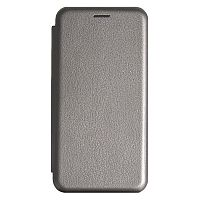 фото товара Чехол-книжка Premium Leather Case Ulefone Note 8/Note 8P grey (тех.пак)