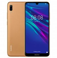 фото товара Huawei Y6 2019 Brown Faux Leather
