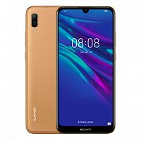 фото товара Huawei Y5 2019 Brown Faux Leather