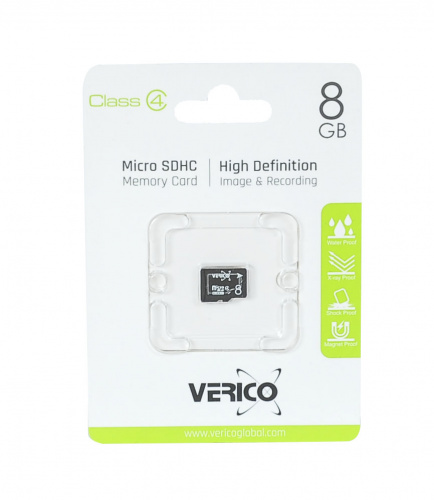 фото товара Verico MicroSDHC 8GB Class 4 (card only)