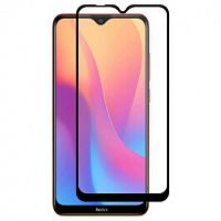 фото товара Защитное стекло Florence (full glue) Xiaomi Redmi 9/9T/9 Prime/Poco M2/M3 Full Cover Black (тех.пак)