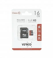 фото товара Verico MicroSDHC 16GB Class 10+SD adapter