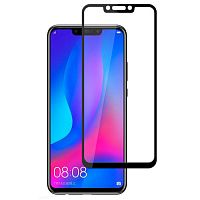 фото товара Защитное стекло MakeFuture Huawei P Smart/P Smart Plus 2019 Full Cover (full glue) Black