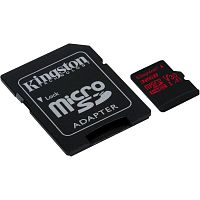 фото товара Kingston MicroSDHC 32GB UHS-I A1 (Class 10)+SD adapter