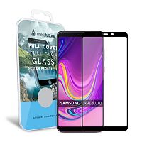 фото товара Защитное стекло MakeFuture Samsung A9 (2018) A920F Full Cover (full glue) Black