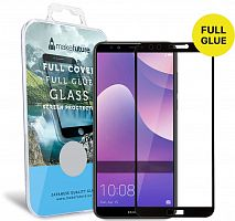 фото товара Защитное стекло MakeFuture Huawei P Smart Full Cover (full glue) Black