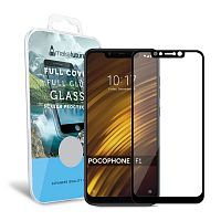 фото товара Защитное стекло MakeFuture Xiaomi Pocophone F1 Full Cover (full glue) Black