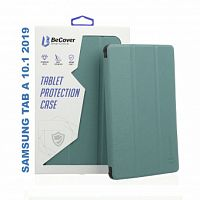 "фото товара Чехол BeCover Smart Case Samsung Galaxy Tab A 10.1"" (2019) T510/T515 Dark Green"