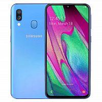 фото товара Samsung A405F Galaxy A40 4/64Gb Blue