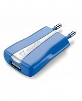 фото товара СЗУ Cellular Line Compact USB blue (ACHUSBCOMPACTCB)