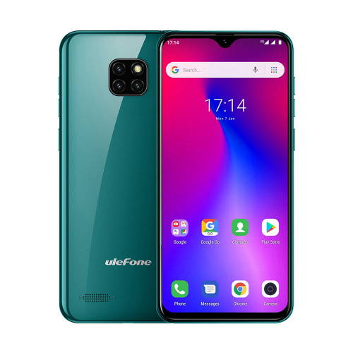 фото товара Ulefone S11 (1/16Gb) Midnight Green