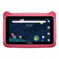 "фото товара Планшет Prestigio Smartkids PMT3197 Wi-Fi Pink 7"", IPS, Quad Core, 1.3Ghz,1Gb/16Gb, BT4.0, 802.11 b/g/n, 0.3MP/2MP, Android 8.1,"