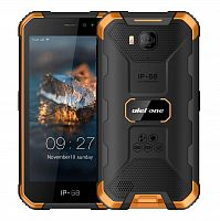 фото товара Ulefone Armor X6 (IP69K, 2/16Gb, 3G) Black-Orange